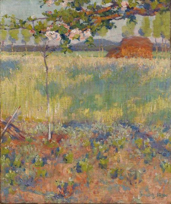 Роберт Воннох (1858-1933). Весна во Франции. Источник http://www.the-athenaeum.org/