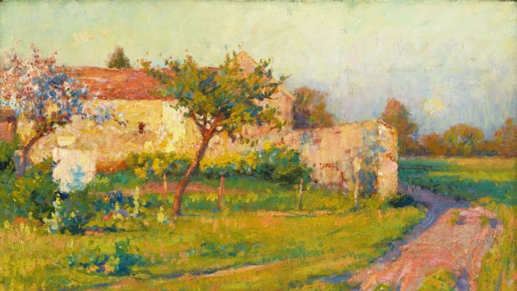 Роберт Воннох (1858-1933). Весна во Франции. Источник http://americanartgallery.org/