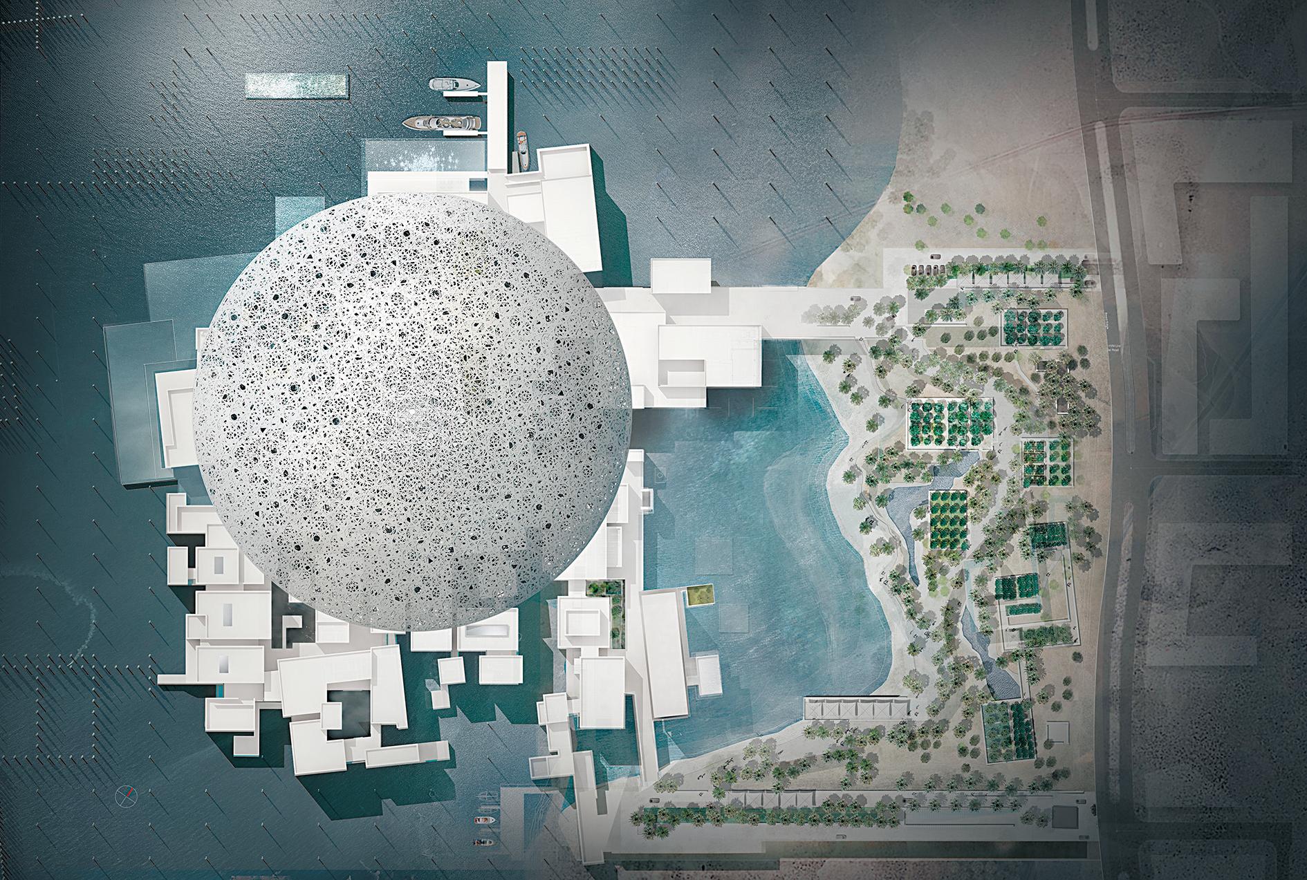 Проект музея (вид сверху). Источник https://www.detail-online.com/