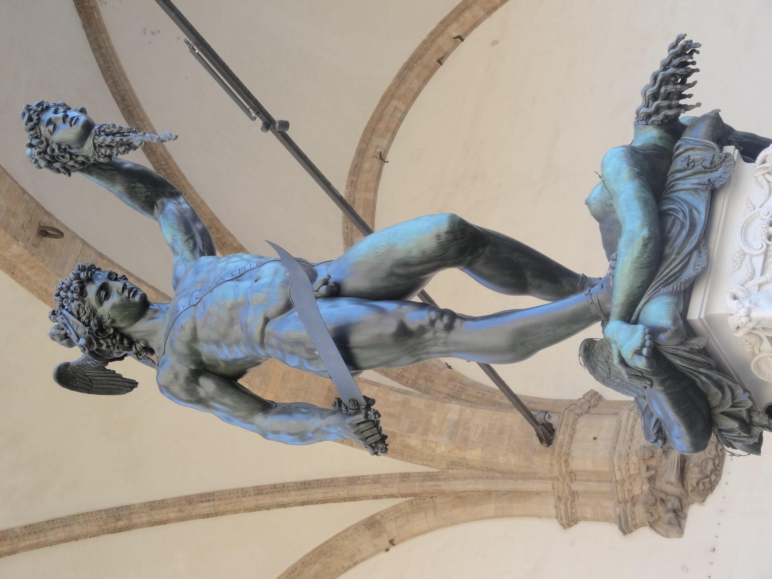Бенвенуто Челлини. Персей. 1545-1554. Флоренция, Италия. Источник https://upload.wikimedia.org/