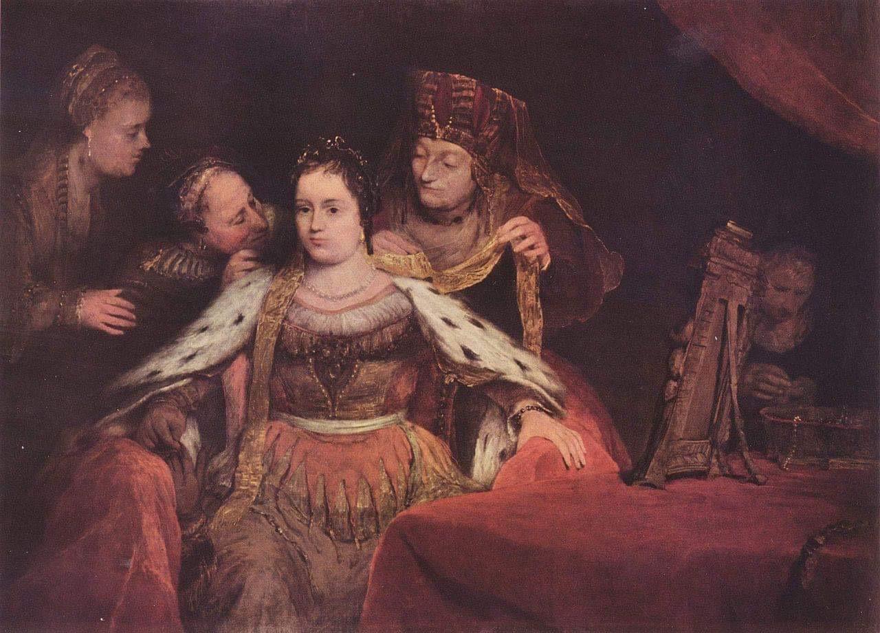 Арент де Гелдер. Еврейская невеста. Около 1684. Масло, холст. Фонд прусских дворцов и садов Берлина – Бранденбурга. Потсдам, Германия. Источник: Викимедиа
