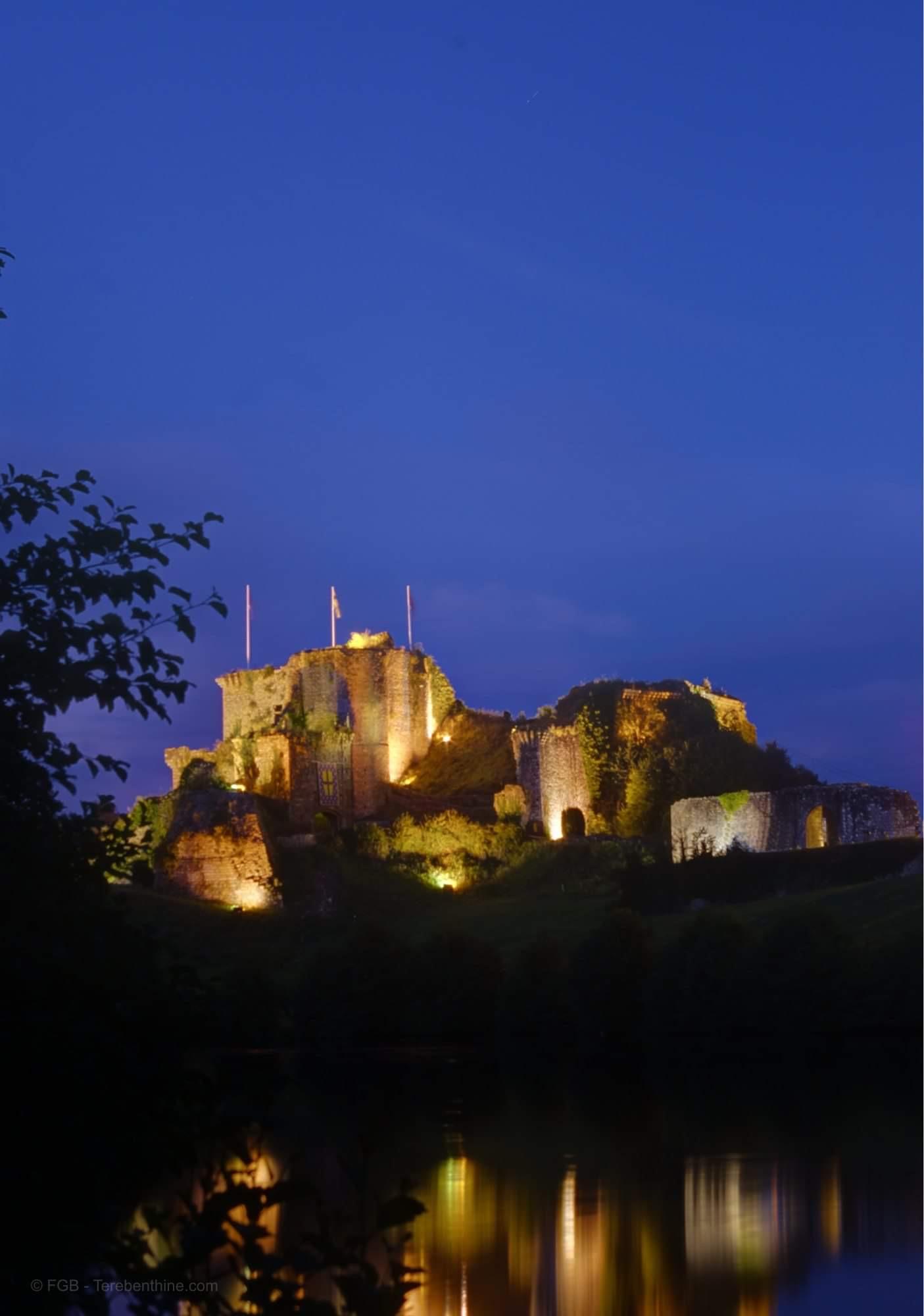 Замок Тиффаж. «Замок Синей Бороды». Франция.