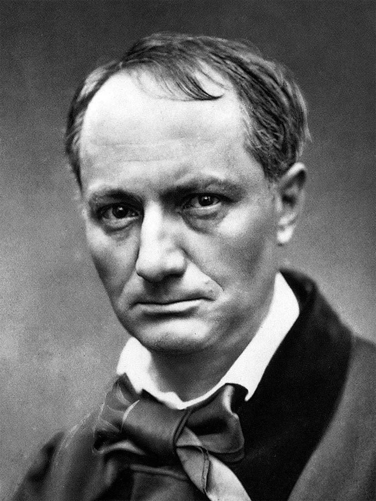Шарль Бодлер. Фото 1863 г. Источник: викимедиа