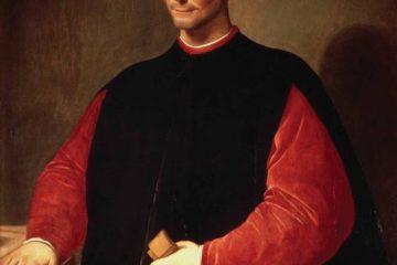 Санти ди Тито (1536-1603). Портрет Никколо Макиавелли. Палаццо Веккьо, Флоренция.