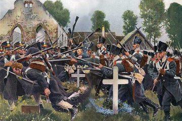 К. Рёхлинг. Сражение при Гросс-Беерене 23 августа 1813 г.
