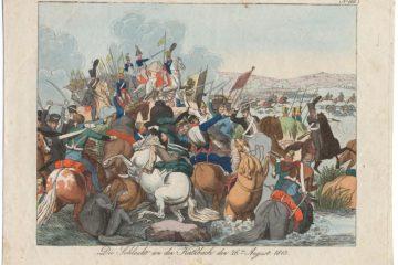 Камп Фридрих. Битва при Кацбахе 26 августа 1813
