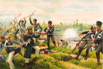 Рихард Кнетель. Прусские лейб-гренадеры в сражении при Вартенбурге 3 октября 1813 г.