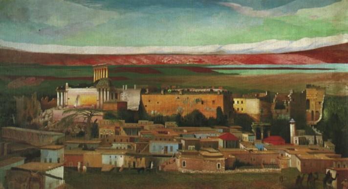 Чонтвари Костка (Csontváry Kosztka). Баальбек (Baalbek), 1906