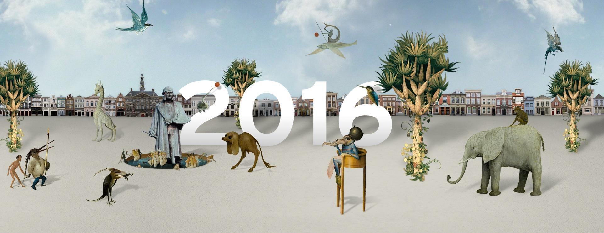 Официальный плакат «Года Босха»